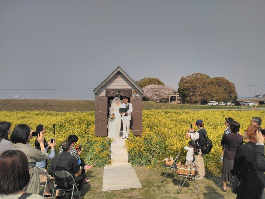 手作りの良さ 結婚式 in 神戸市西区岩岡